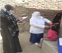 استمرار التطعيم ضد شلل الأطفال في منشأة القناطر بالجيزة