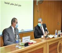 رئيس جامعة كفر الشيخ يتابع اجراءات بداية الفصل الدراسي الثاني