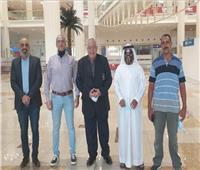 «فهيم» في الإمارات لافتتاح بطولة عجمان الأولي لبناء الأجسام