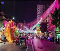 بالصور.. شبرا تحتفل بقدوم رمضان بـ«الهلال مع الصليب»