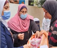 «صحة القليوبية» تواصل حملة التطعيم ضد مرض شلل الأطفال