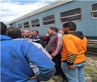 القبض على سائق السيارة المتسبب في حادث تصادم قطار مطروح