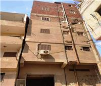 لحدوث ميل ظاهري.. إزالة عقار مكون من 5 طوابق في الشرقية