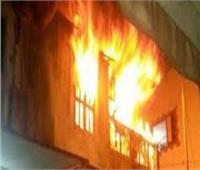 ماس كهربائي وراء حريق ورشة بالجمالية
