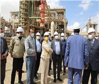 وزيرة البيئة تتابع الوضع لشركة النصر للأسمدة والصناعات الكيمياوية بالسويس