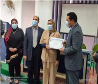 تكريم فرق الحملة القومية للتطعيم ضد شلل الأطفال بالمنوفية