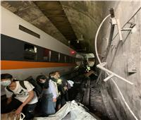 ارتفاع ضحايا قطار تايوان إلى 41 قتيلا