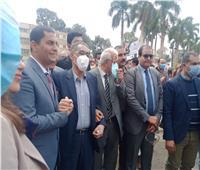 ضياء رشوان يسجل حضوره في لجان انتخابات الصحفيين