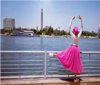 حكايات| الباليرينا إنجي.. أول راقصة باليه عربية محجبة