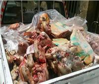 إحباط ترويج 20 طن «صلصة وفراولة» فاسدة ولحوم مذبحة خارج المجازر