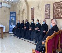 بطريرك الكاثوليك يستقبل كهنة الإيبارشية البطريركية في اللقاء الدوري