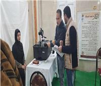 استخراج بطاقة الرقم القومي لـ 128 سيدة مجانا بريف الإسكندرية | صور