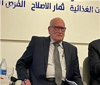 حسين منصور : قانون سلامة الغذاء يحتاج دعم الجهات الرسمية
