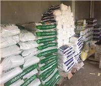 إحباط ترويج 95 طن أغذية وأسمدة زراعية مجهولة المصدر