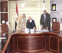 محافظ بني سويف يشكل لجنة لمتابعة توريد واستلام القمح
