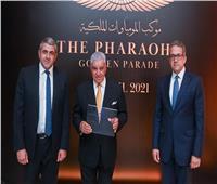 رئيس «السياحة العالمية» يسلم زاهي حواس شهادة تعيينه سفيرا للمنظمة