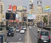 الحالة المرورية|سيولة في حركة السيارات بطرق وميادين القاهرة والجيزة