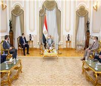 وزير الإنتاج الحربي يبحث مع «السفير البلجيكي» تعزيز التعاون المشترك