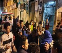 الجمهور يحاصر مصطفى درويش في شبرا