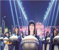 حفل المومياوات الملكية يسيطر على السوشيال ميديا