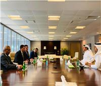 الرئيس التنفيذي للهيئة العامة للاستثمار يبحث جذب الاستثمارات البحرينية