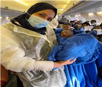 صور  «ولادة فوق السحاب».. راكبة تضع مولودها خلال رحلة «مصر للطيران»