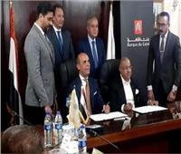 وزير التموين يفتتح أول مكتب للسجل التجاري بالبنوك المصرية