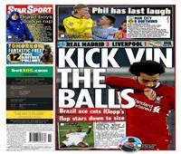 سقوط ليفربول أمام ريال مدريد يتصدر الصحف العالمية