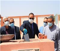 رئيس جامعة سوهاج يضع حجر أساسمركز الدراسات البيئية والبحرية بالقصير