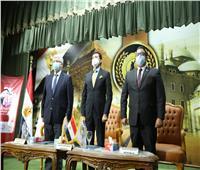 أشرف صبحي وأبطال «إيلات» فى لقاء مفتوح مع  الشباب بإعداد القادة في حلوان