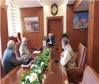 محافظ بورسعيد يستقبل أعضاء اللجنة العليا للتقييم بوزارة المالية
