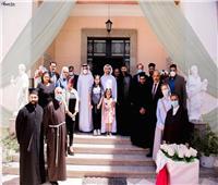 وكيل مطرانية طيبة يستقبل سفيرالإمارات ومندوبها الدائم بالجامعة العربية