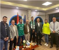 فرج عامر يعلن إعارة حسام حسن والترهوني إلى أهلي طرابلس | صور