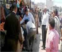 تحرير 150 مخالفة تموينية خلال 24 ساعة بالجيزة