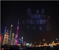 شاهد| عروض جوية تشارك فيها آلاف الطائرات المسيرة بالصين