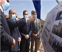 وزير التنمية المحلية ومحافظ الغربية يفتتحان مشروع تطوير ميدان المحطة