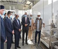 وزير التنمية المحلية ومحافظ الغربية يتفقدان مجزر قرية شبشير الحصة