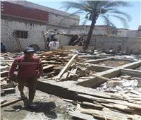 إزالة 33 حالة تعد على أملاك الدولة والأراضي الزراعية بقرى مركز ومدينة المنيا