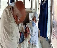 علاج 1791 حالة خلال قافلة طبية بقرية الشيخ مسعود بالمنيا