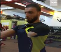 فلسطيني يتحدى الإعاقة برياضة كمال الأجسام| فيديو