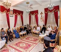 السفير الإماراتي بمصر يزور إيبارشية طيبة للأقباط الكاثوليك