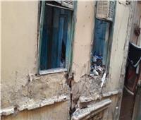 انهيار أجزاء من منزل بأوسيم .. دون إصابات