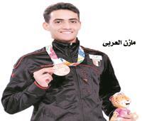 مازن العربي صاحب ذهبية العالم في «السلاح»: ميدالية طوكيو 2021 هدفي القادم