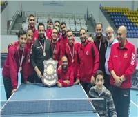 «رجال تنس الطاولة» بالأهلي يفوز بـ«بطولة الدوري»