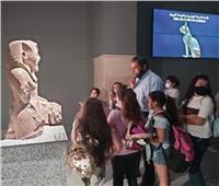 متحف شرم الشيخ يستقبل طلاب المدارس في رحلات تعريفية.. صور