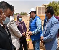 محافظ أسوان يتابع مشروعات تطوير الريف المصري بقرية فارس