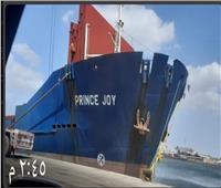 اقتصادية قناة السويس: تفريغ7 آلاف طن رخام بميناء غرب بورسعيد
