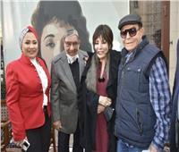 بالصور| بحضور لبنى عبد العزيز.. حفل توقيع كتاب «لبنى.. قصة امرأة حرة»