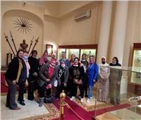 قصر عابدين يستقبل «محاربات السرطان».. صور