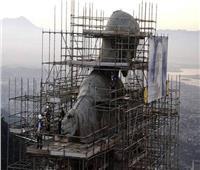 قرية برازيلية تشيد ثالث أكبر تمثال للسيد المسيح بالعالم